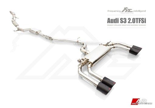 AUDI 8P 8V S3 FI EXHAUST VALVED AFTERMARKET EXHAUST REMOTE CONTROL
