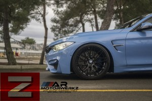 bmw f82 yas marina blue m4 zf01 satin black