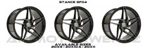 Stance SF04 GLOSS BLACK MACHINE TINT