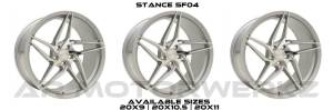 Stance SF04 MIRROR FACE SILVER