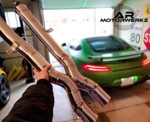 AMG GTR - FI Exhausts