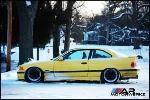 BMW E36 M3 Winter Tires