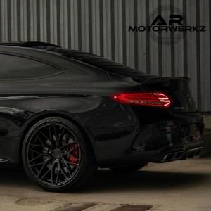 Mercedes C63 AMG - ZITO ZF01 Satin Black
