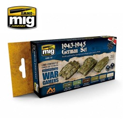 Wargames Paint Sets (6 x 17ml bottles)