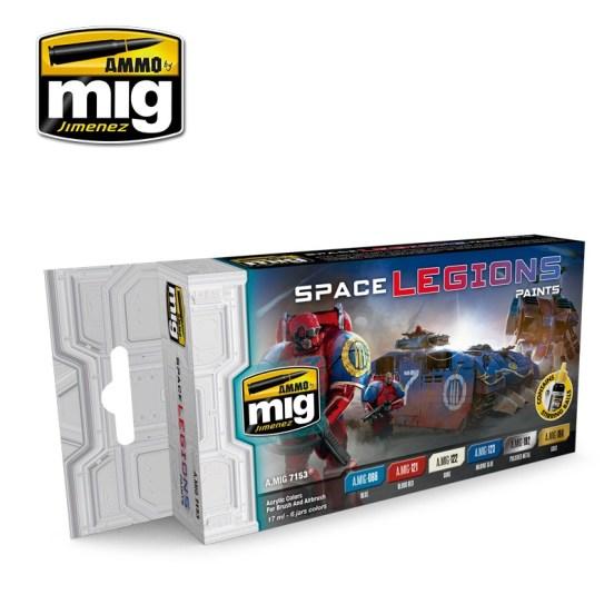 Space Legions Colour Set