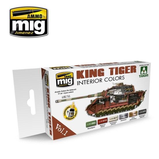 King Tiger Interior Colour