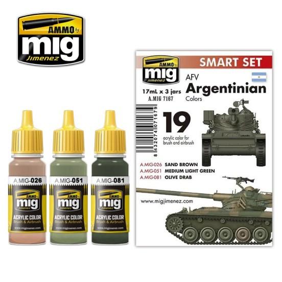 AFV Argentinian Colours
