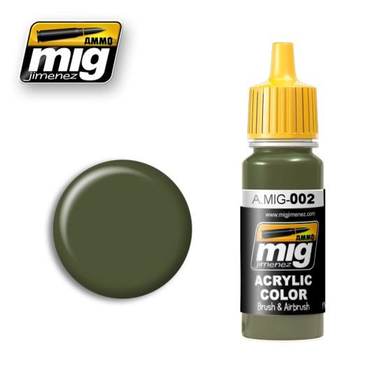 RAL 6003 Olivgrun opt. 2