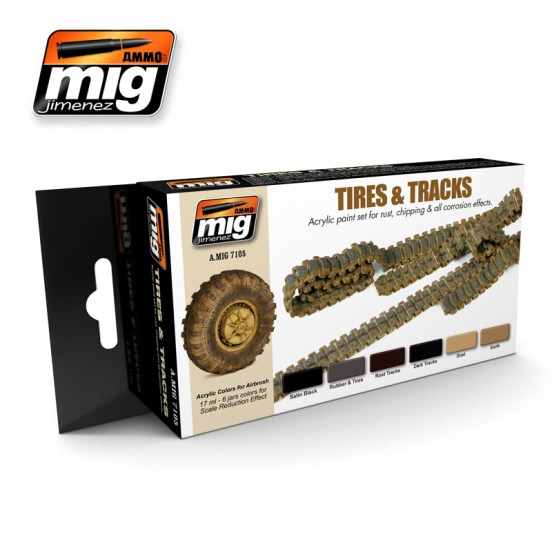 Tires and Tracks