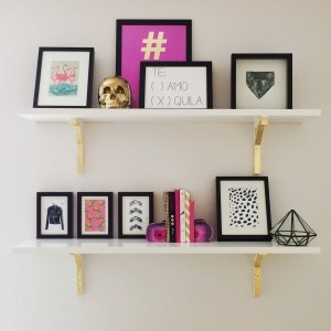 Up your #Shelfie Game | blog for Letote.com | via Arm Party Central |