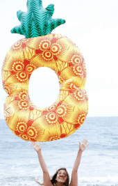 10. Urban Outfitters 'Pineapple Pool Float' $38