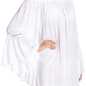 14. Elan 'Bell sleeve off the shoulder' Cover Up $54