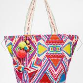 22. ASOS 'Geo Tribal Beach Bag' $41