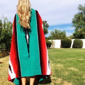 9. Tribe & True 'Kaleidoscope Beach Blanket' $58