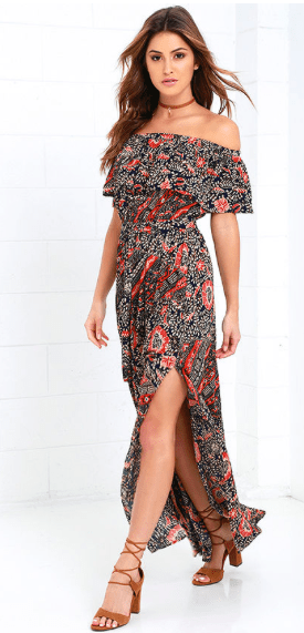 5. Welcome to the Tropics Maxi Dress $69
