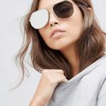 11. ASOS 'Pala Angled Aviator' Sunglasses $89