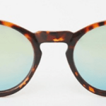 13. ASOS 'Round Sunglasses with Metal Arms and Flash Lens in Tart' $20