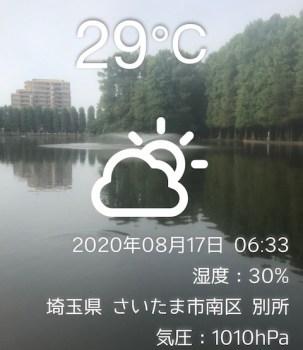 爽快 朝ウオーク&run