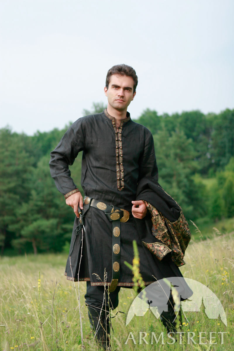 Medieval clothing  exclusive fantasy prince overcoat garb