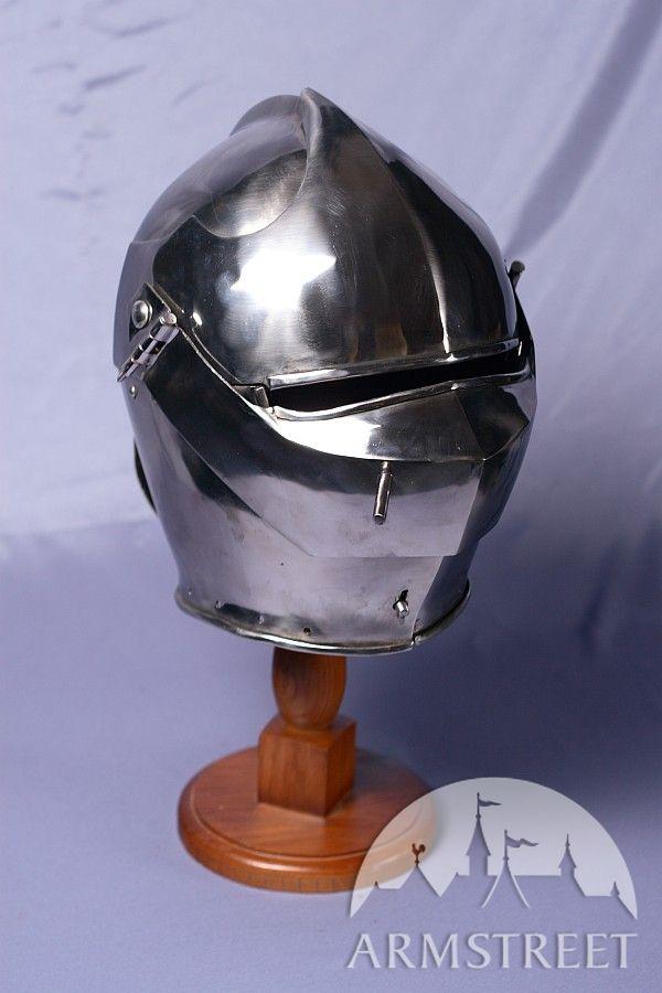 Armet Knight Helmet  14 ga coldrolled mild steel for