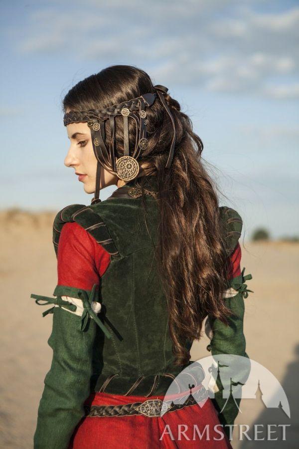 Fantasy Medieval Dress Corset And Chemise Alchemist'