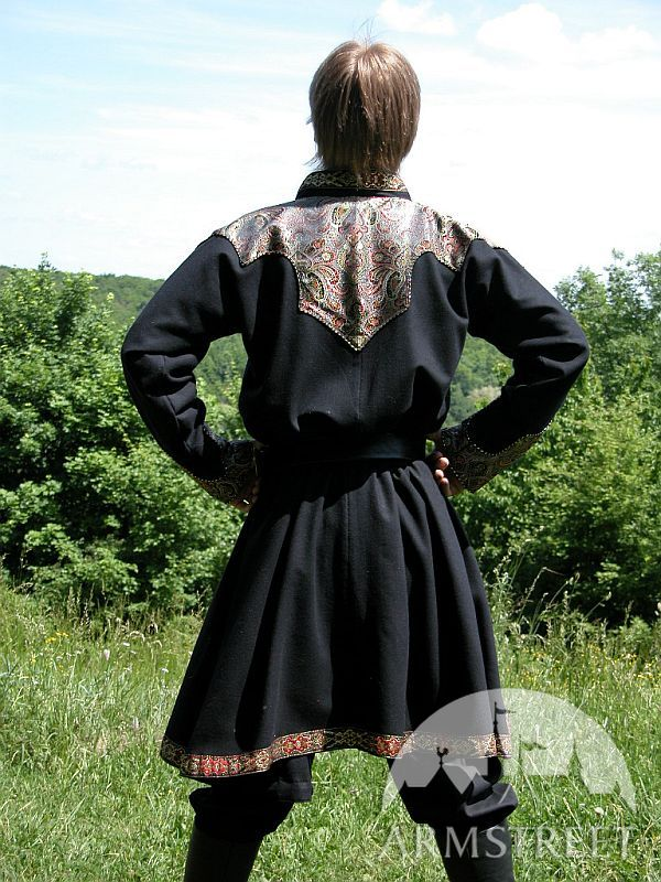 Medieval Fantasy Noble Tunic With Exclusive Brocade