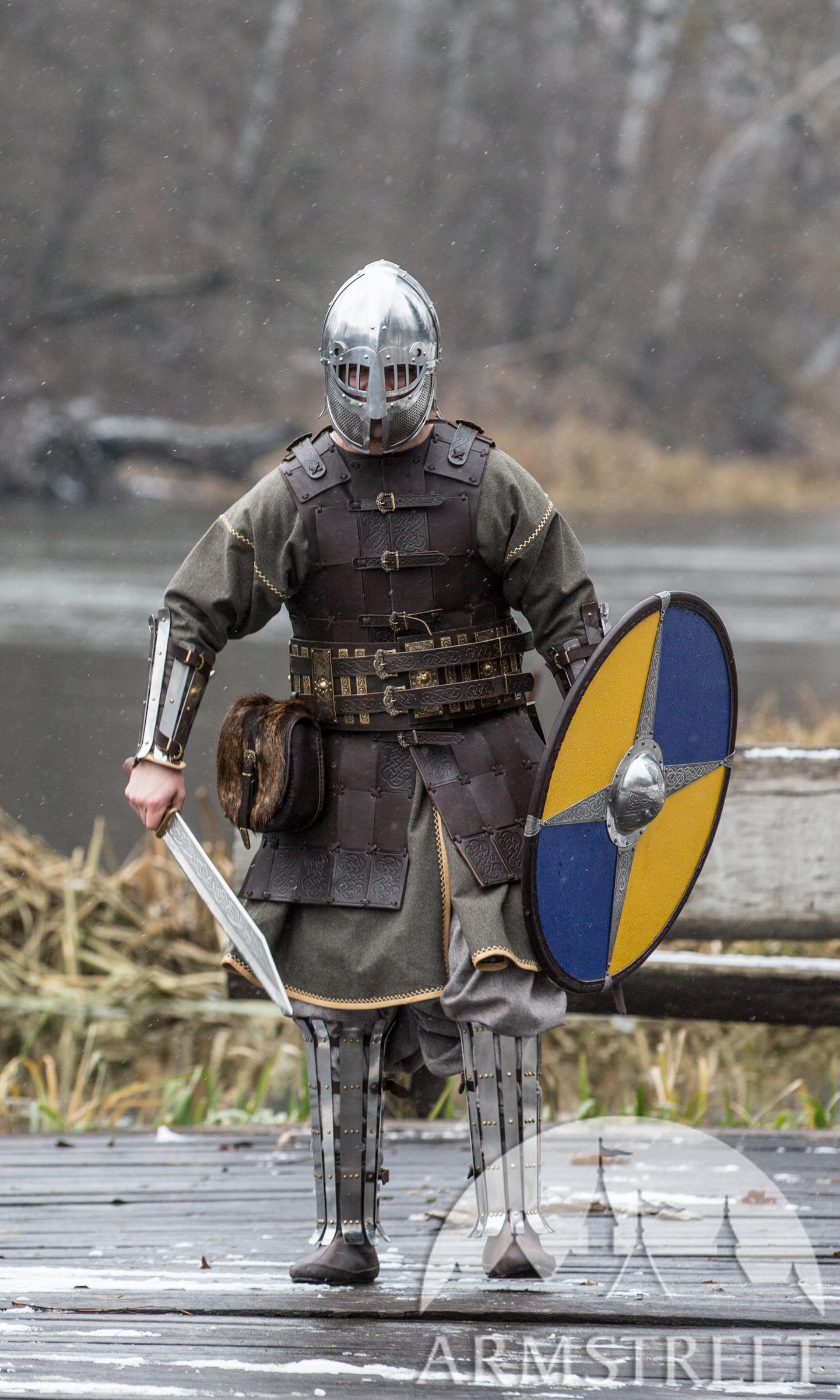 Fantasy Viking Leather Armor Olegg the Mercenary for