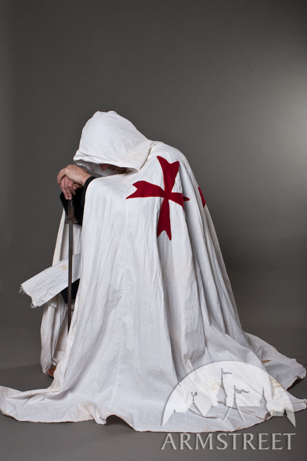 Medieval knight crusader cloak for sale Available in