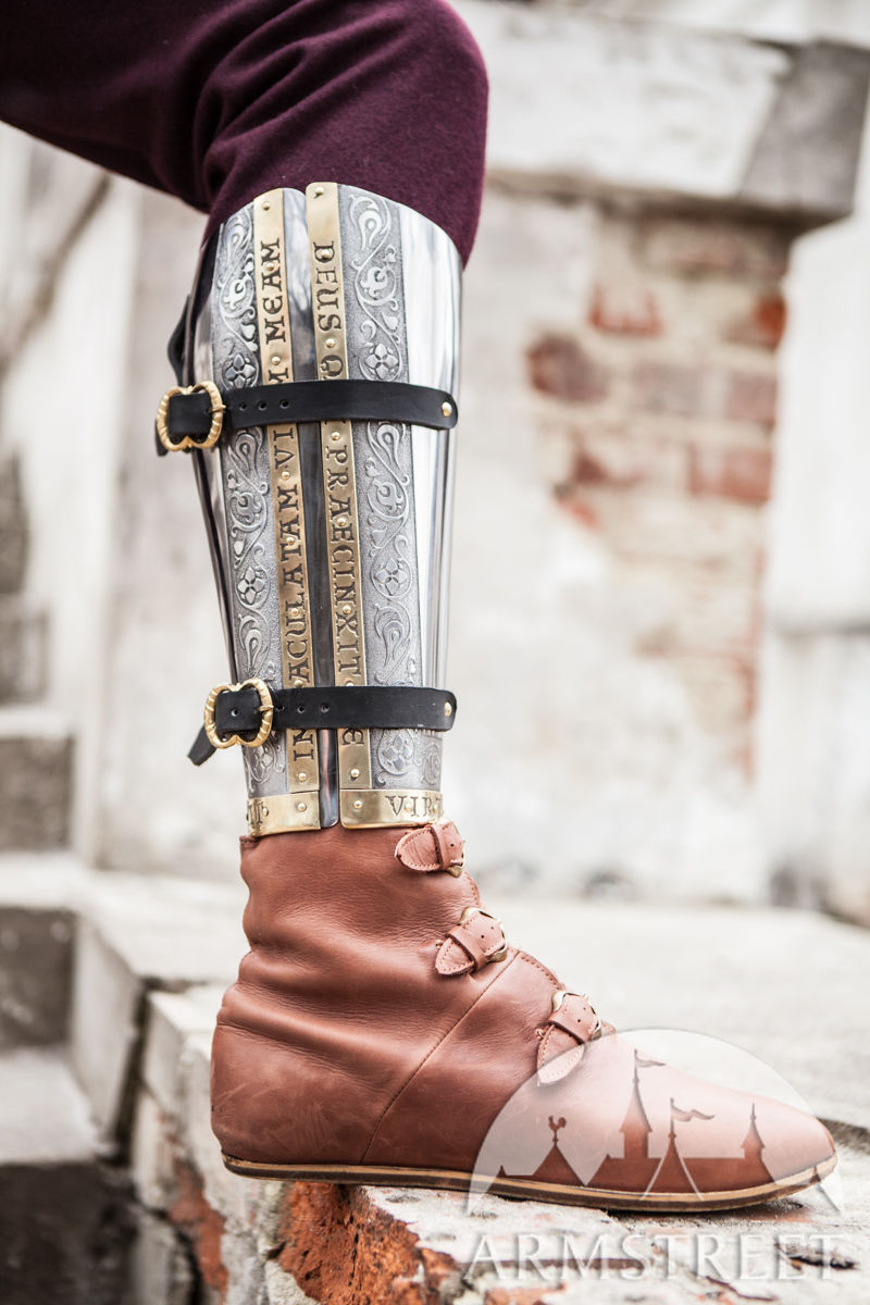 Medieval Armor Greaves The Kings Guard SCA Available