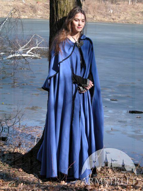 Medieval Cloak Handmade Woolen Cape with Kinsale Hood