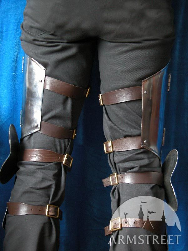 Medieval Western Leg Armorthigh Plates Knee Cops for
