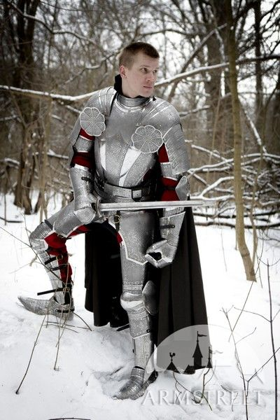 Armor knight paladin medieval SCA armour kit for sale Available in stainless  by medieval