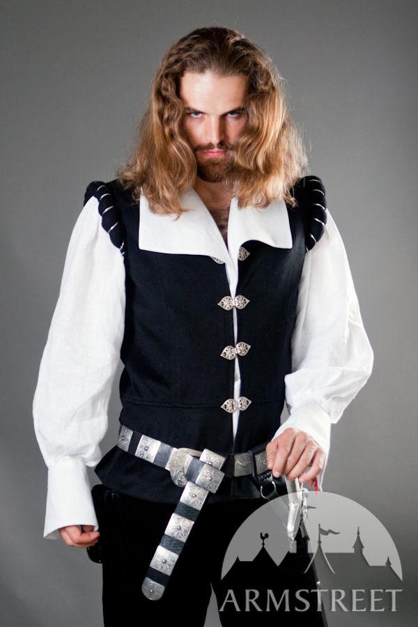 Renaissance Medieval Noble Wool Vest Chevalier for sale