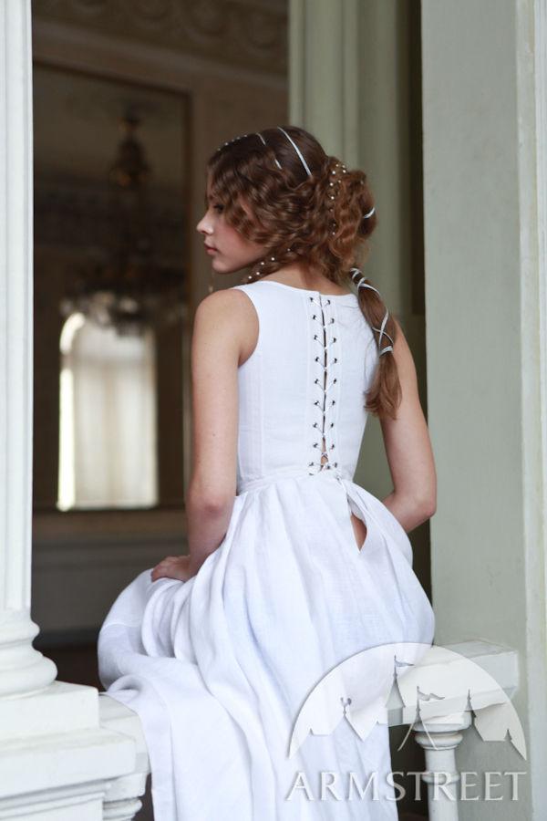 Medieval Underwear Kit Renaissance Flax Linen Corset And