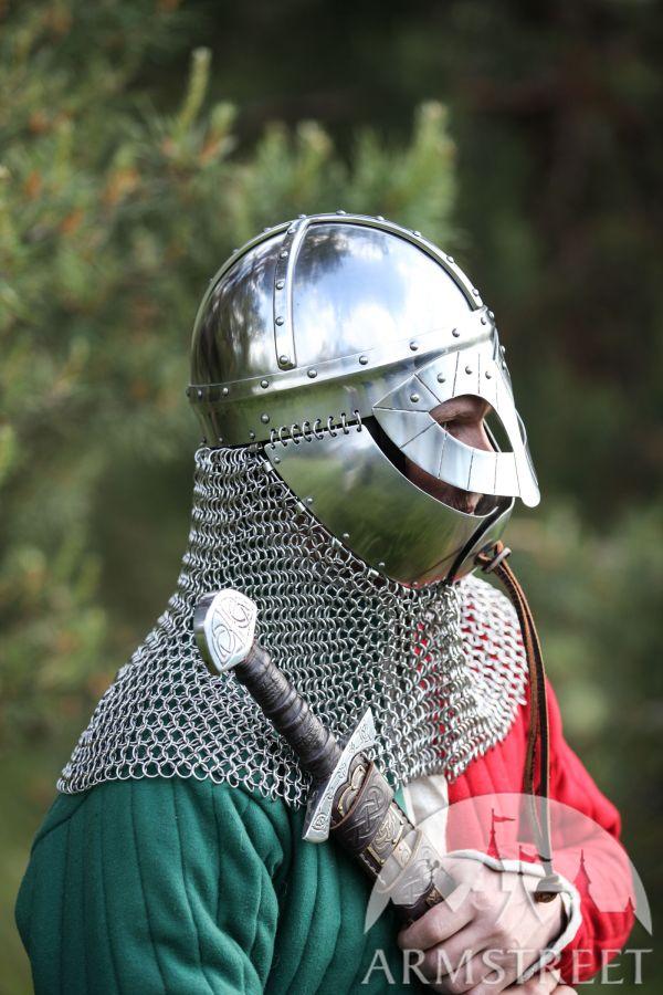 Viking Helmet In Stainless Steel 16