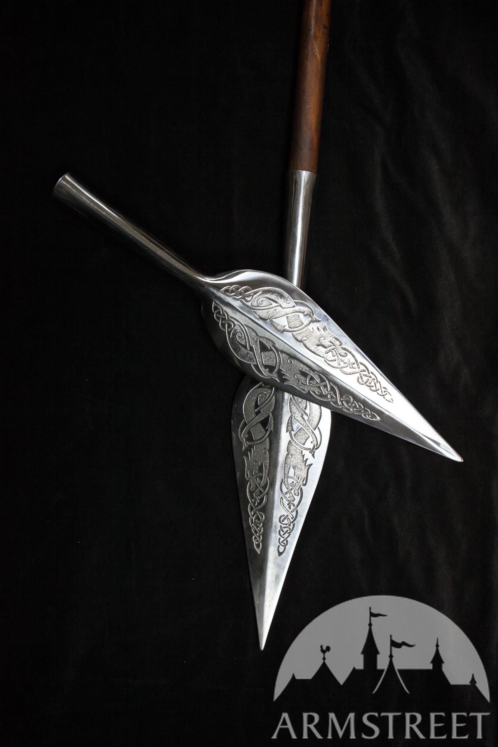Viking Style Stainless Spearhead Available in stainless