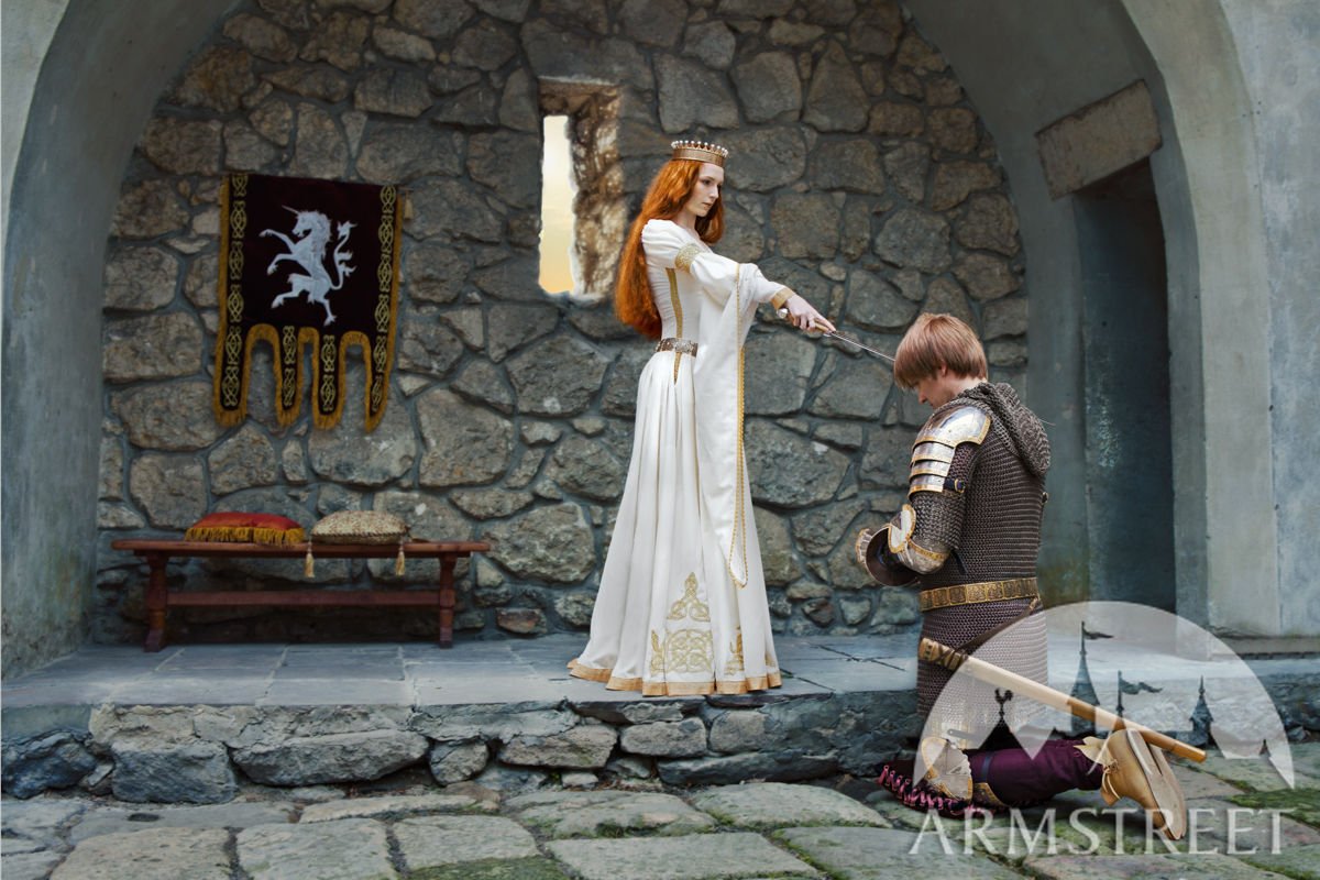 White Dress The Accolade Medieval Wedding Available in