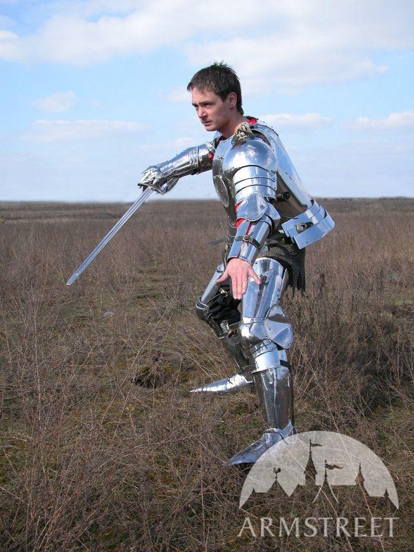 Mittelalter Ritter Plattenrstung kaufen Vorhanden in