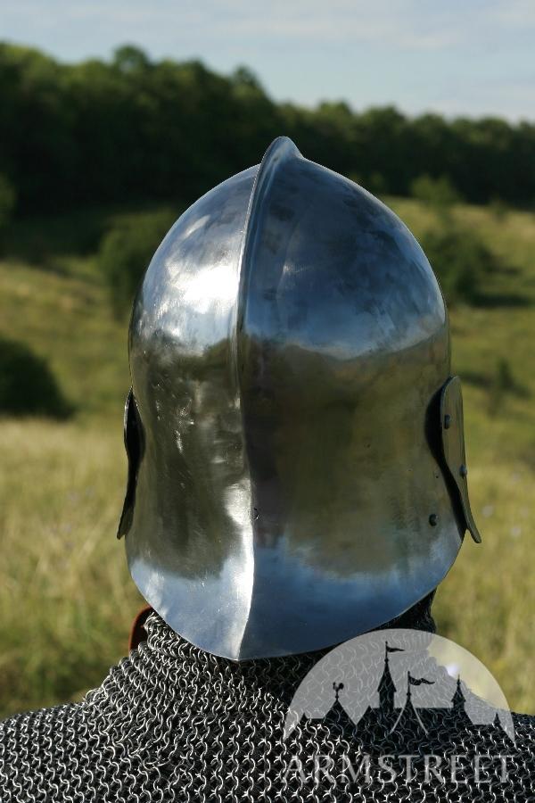 Sptmittelalter Exklusiver Schaller Helm Mit Bart kaufen