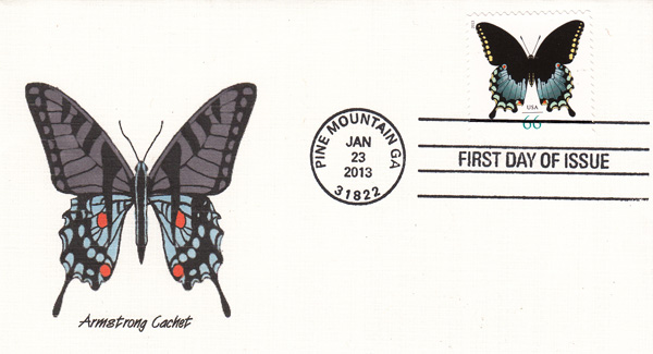 Kelly Armstrong Philatelic Covers 2013