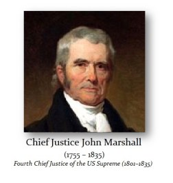 Marshall John Chief Justice - 1