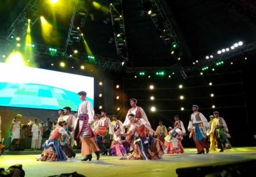 Santa Fe dijo presente en el Festival Nacional de Folklore de Cosquín.