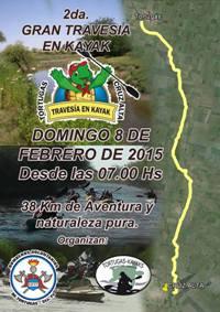 Se viene la 2da Gran Travesía en Kayak. Tortugas – Cruz Alta.