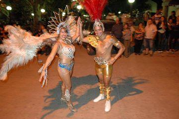 Armstrong. Arrancaron los festejos de carnaval.