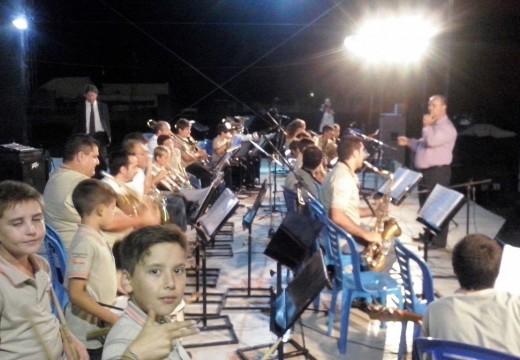 Inicio de actividades de la Banda Municipal 2015.