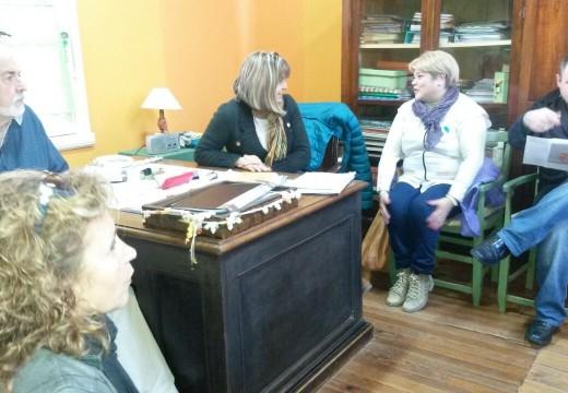 Crossetti entregó aportes a Instituciones del Dpto Belgrano.