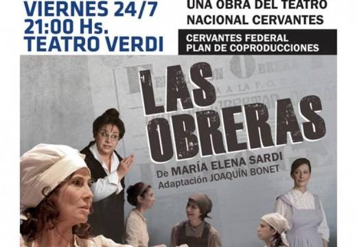 Cañada de Gómez. Ya se pueden retirar las entradas para «Las Obreras».