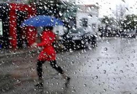 Alerta  por lluvias y tormentas fuertes.