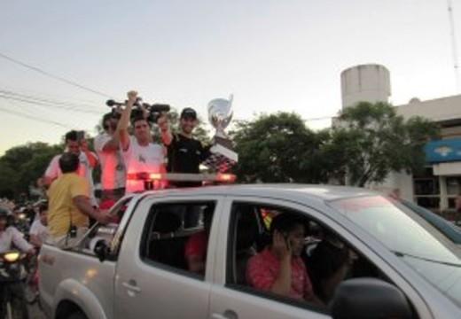 Las Parejas recibió al Campeón Facundo Ardusso.
