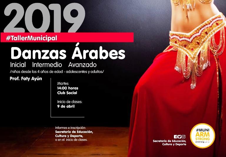 taller danzas arabesl 2019